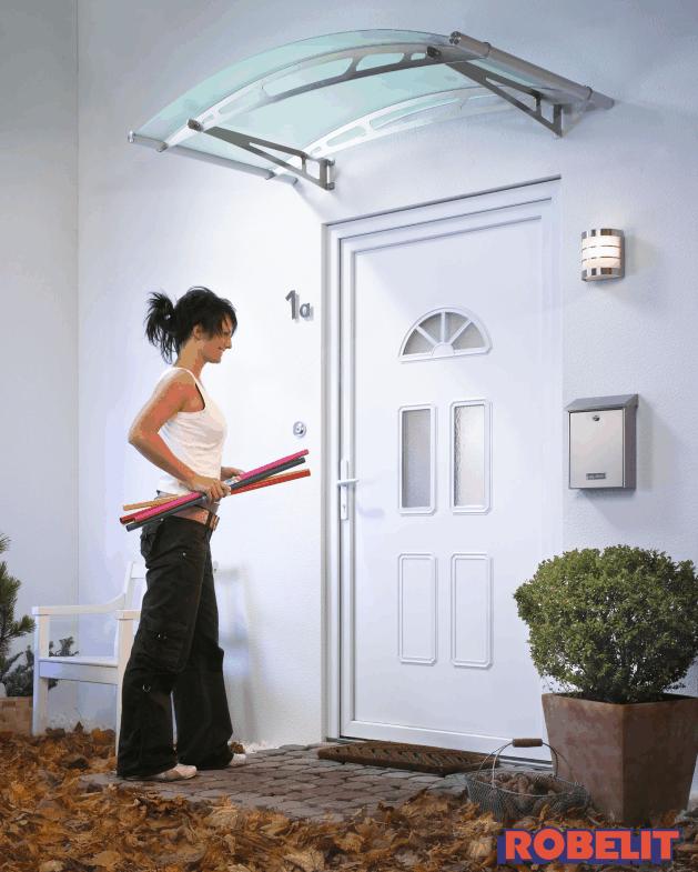 Zadaszenie drzwi