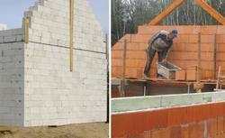 Zasady murowania ścian. Ściany jednowarstwowe