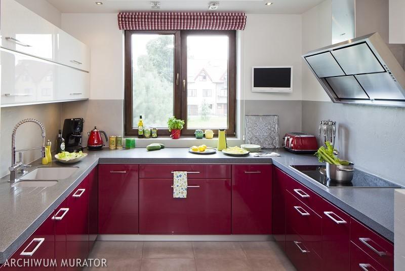 Galeria zdjęć  Nowoczesna kuchnia na wysoki połysk Zobacz 12 aranżacji kuch   -> Kuchnia Wanilia Na Wysoki Polysk