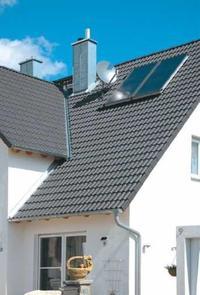 Pokrycie z dachówki pÅ'askiej