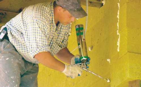 Montaż wełny mineralnej