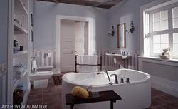 Aranżacja łazienki z wanną wolno stojącą