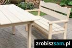 Jak zbudować drewnianą ławkę?