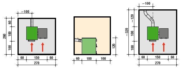 Kotłownia z kotłem na ekogroszek